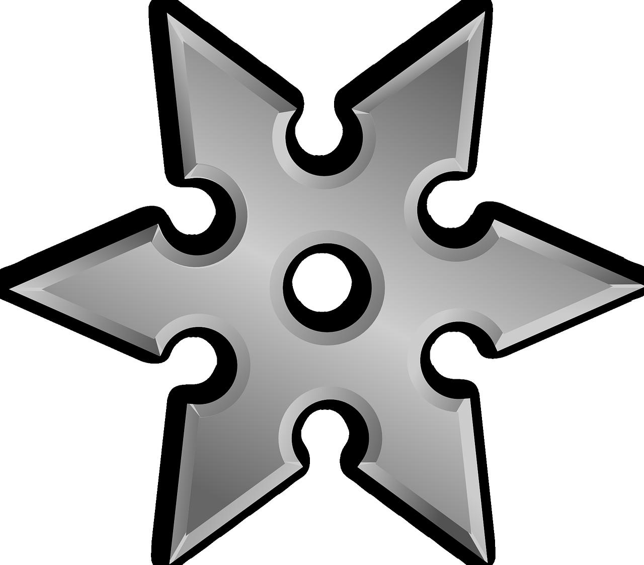 Shuriken 6 PNG Image