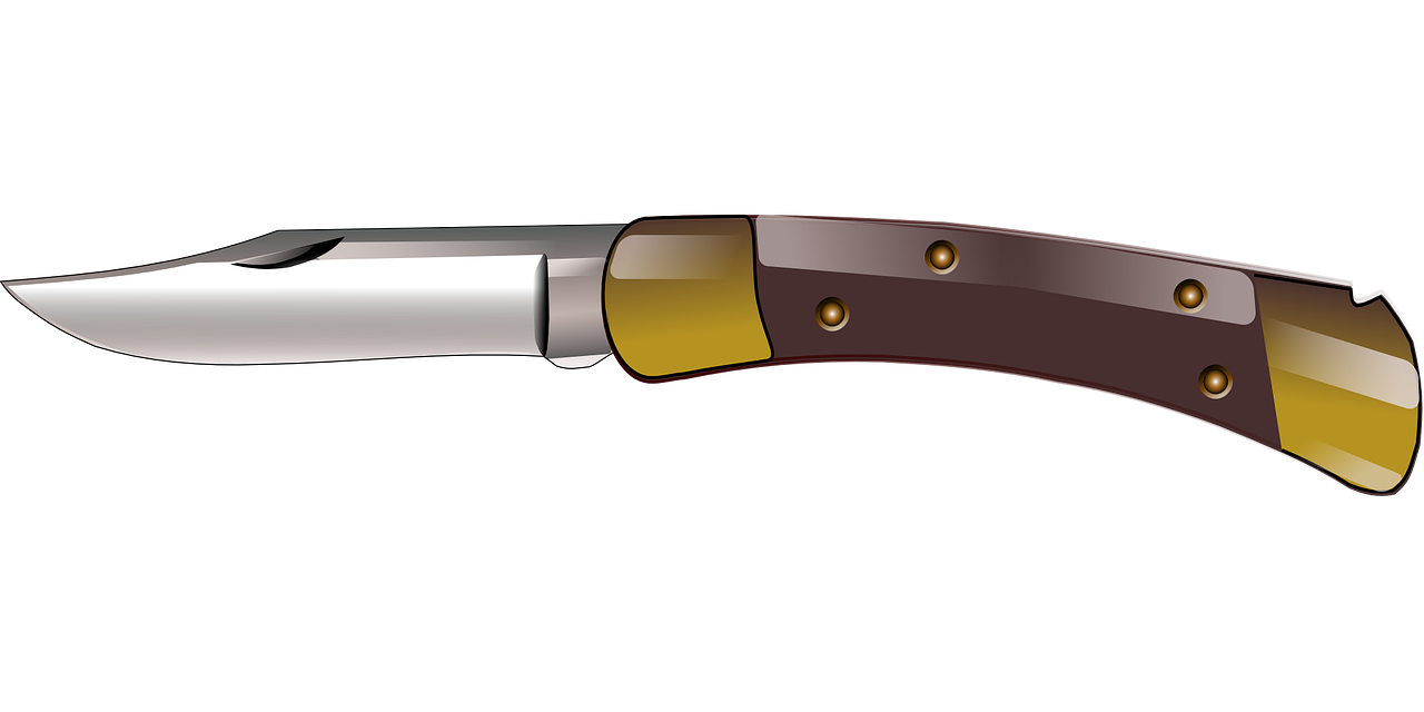 Cartoonish jackknife PNG Image