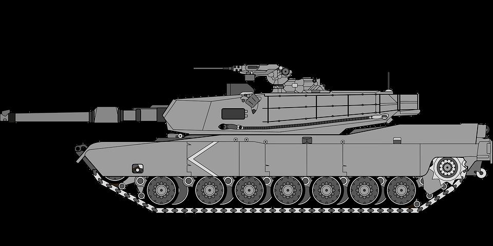 Cartoonish army Tank PNG Image