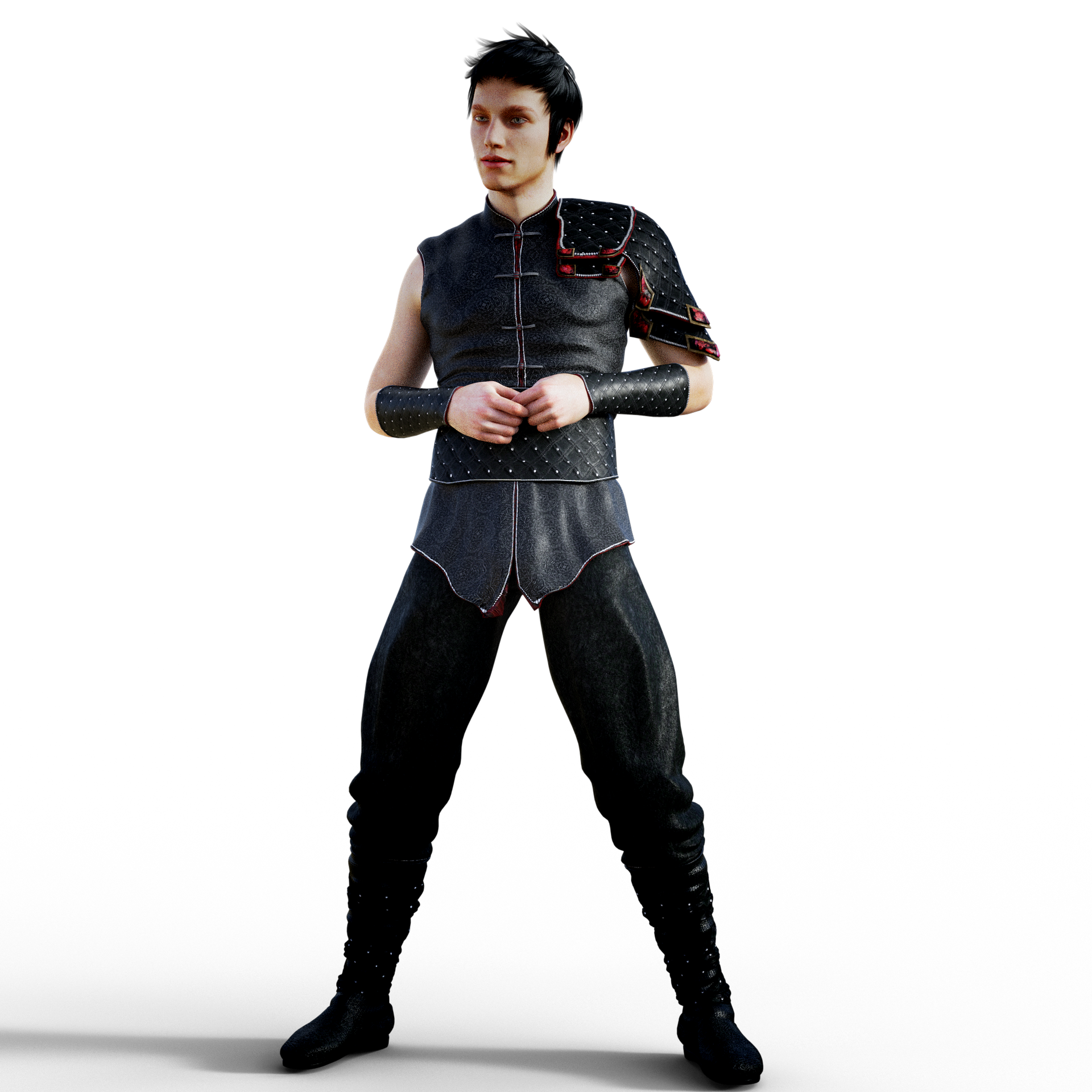 Animated fighter PNG Image