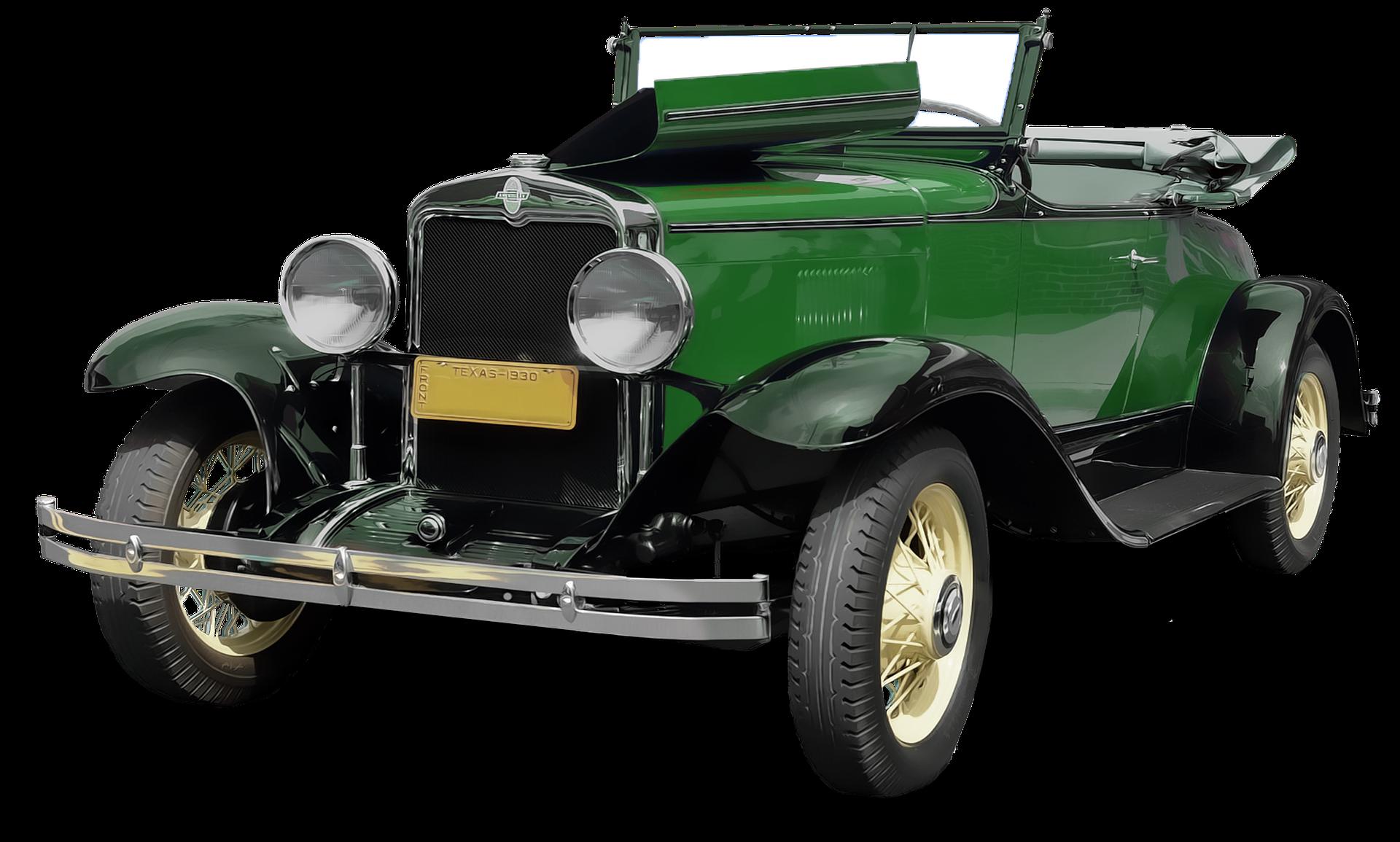 Oldtimer Car PNG Image