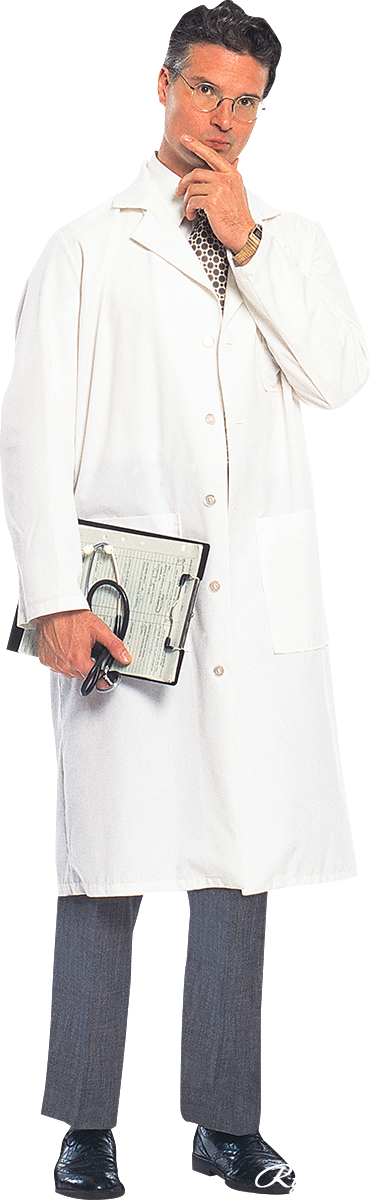 Thinking Doctor PNG Image