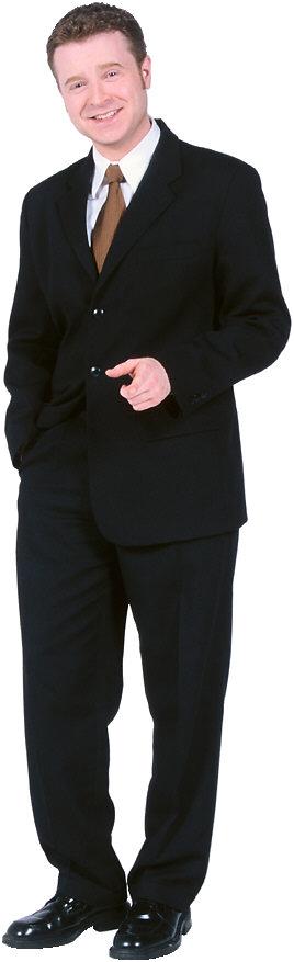 Buisnessman standing PNG Image
