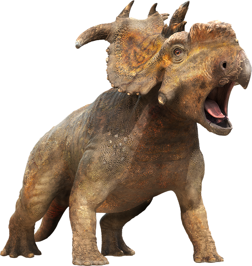 Dinosaur doing his Battlecry PNG Image