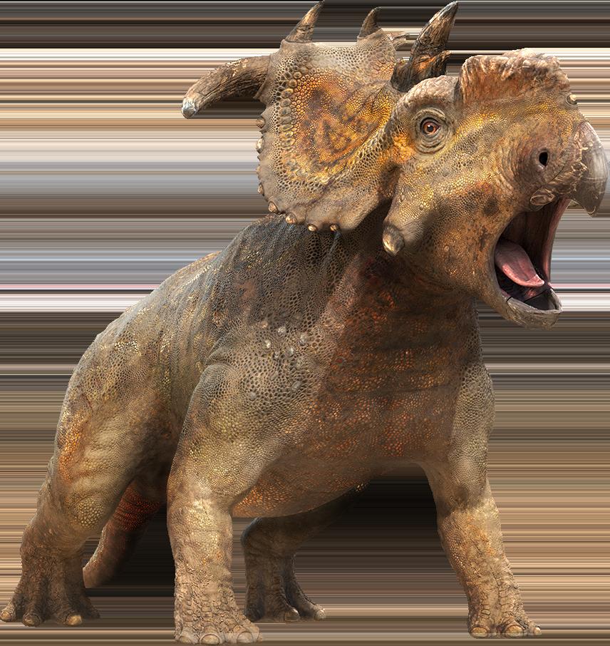 Dinosaur doing his Battlecry