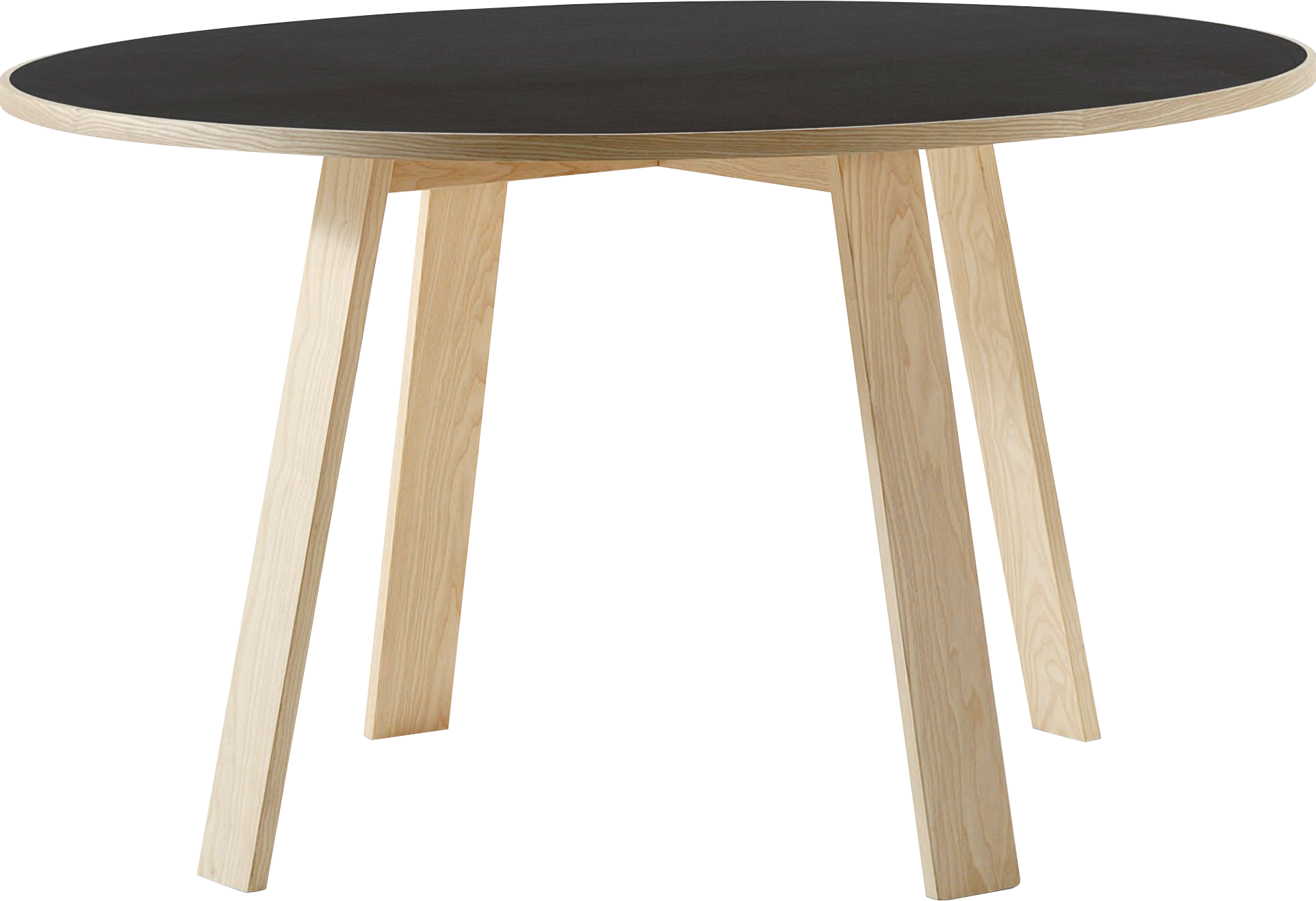 Modern Black and white table PNG Image
