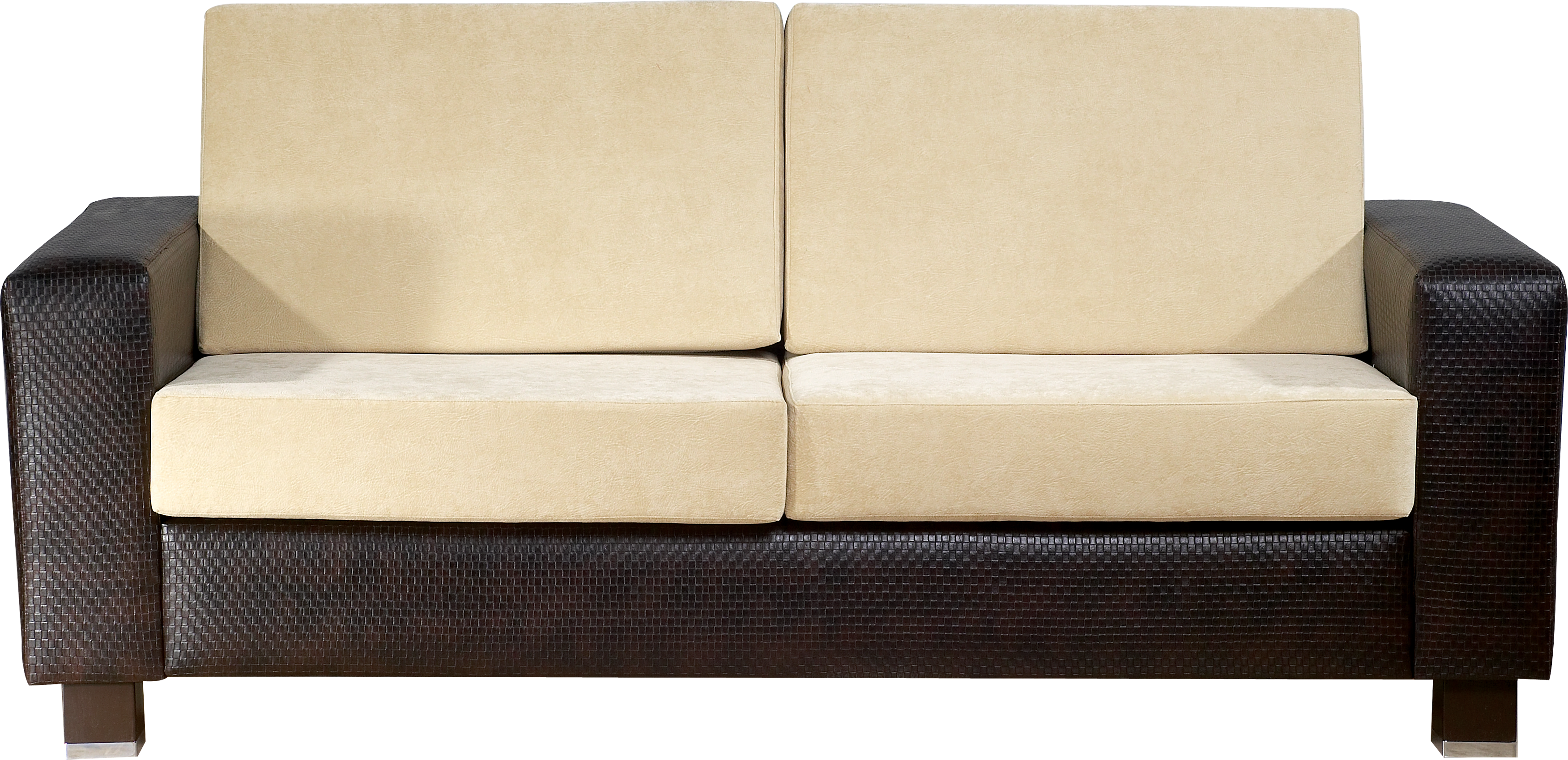 Black and white modern Sofa PNG Image