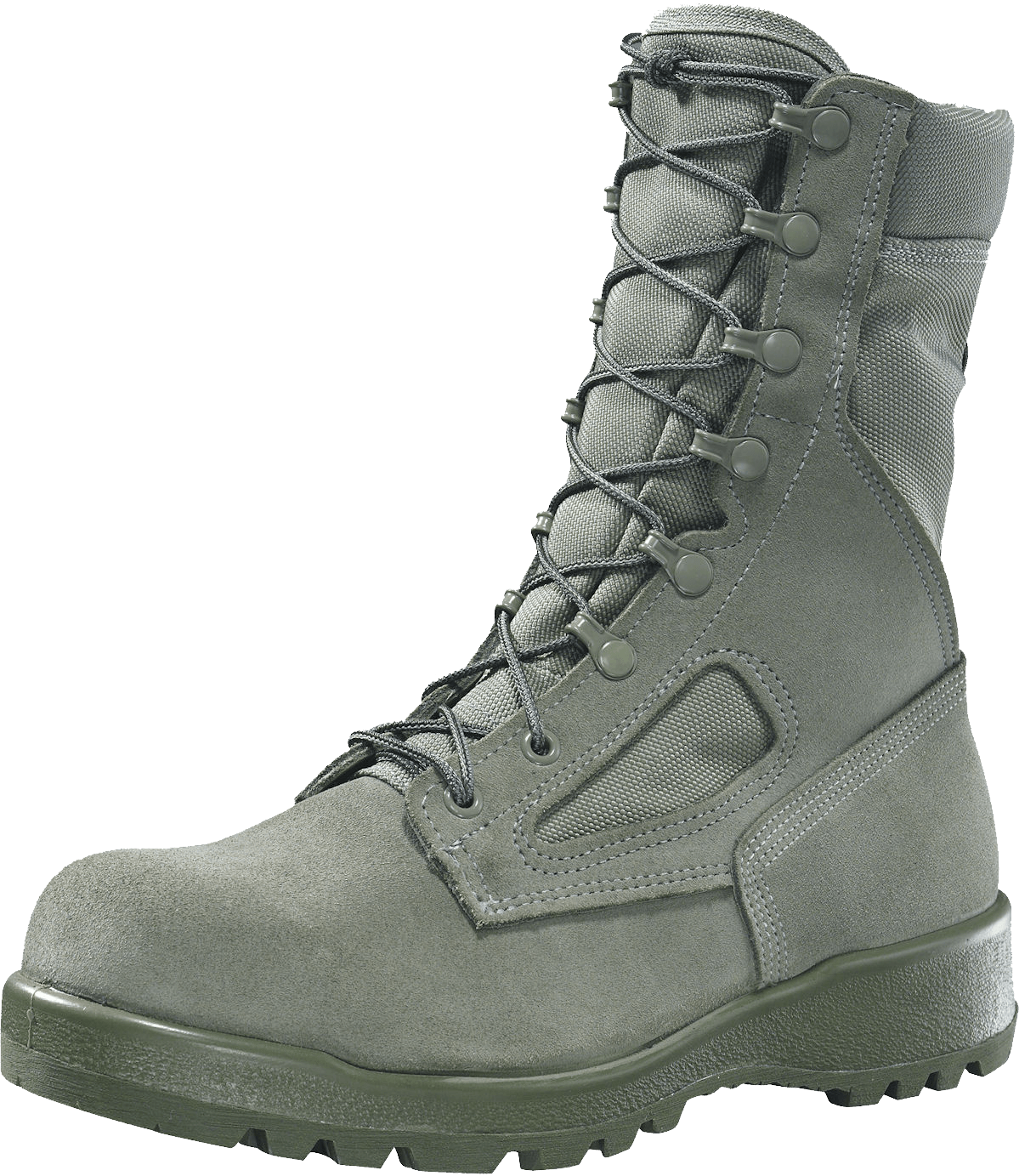 Olive green Boots PNG Image