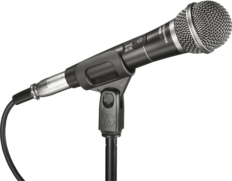 Black audio Microphone
