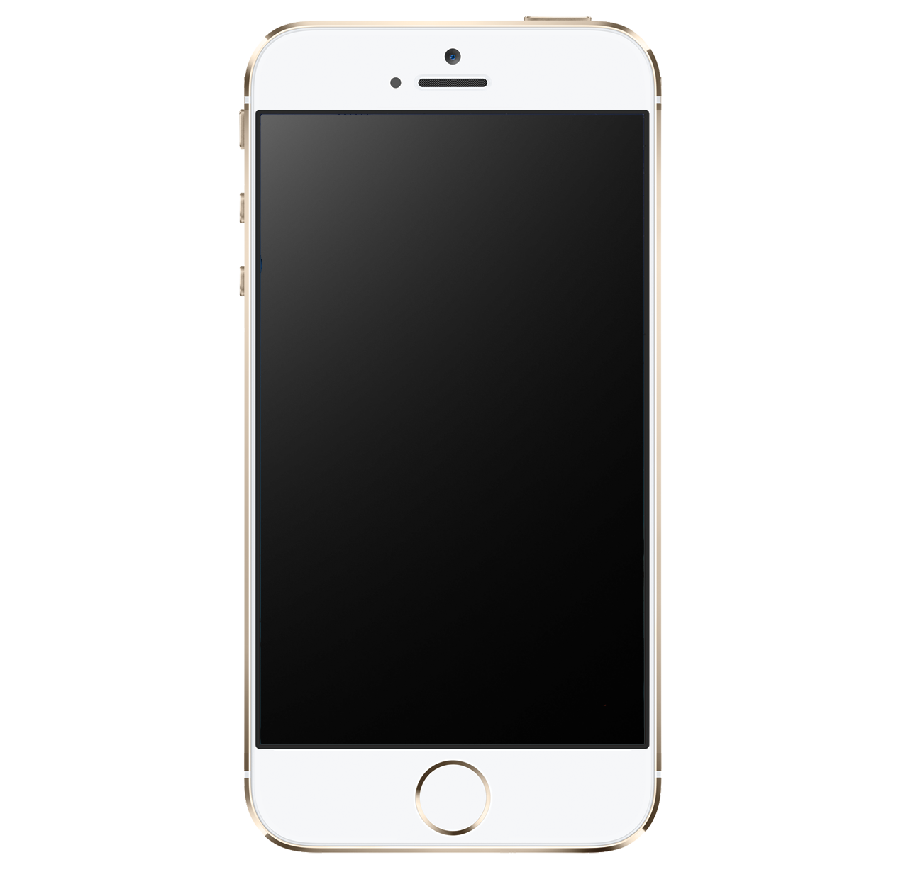 Golden IPhone 5S PNG Image