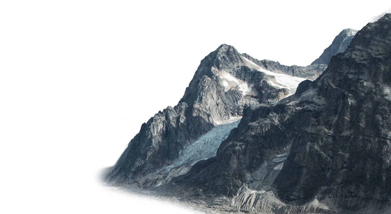 Mountain With Snow PNG Image