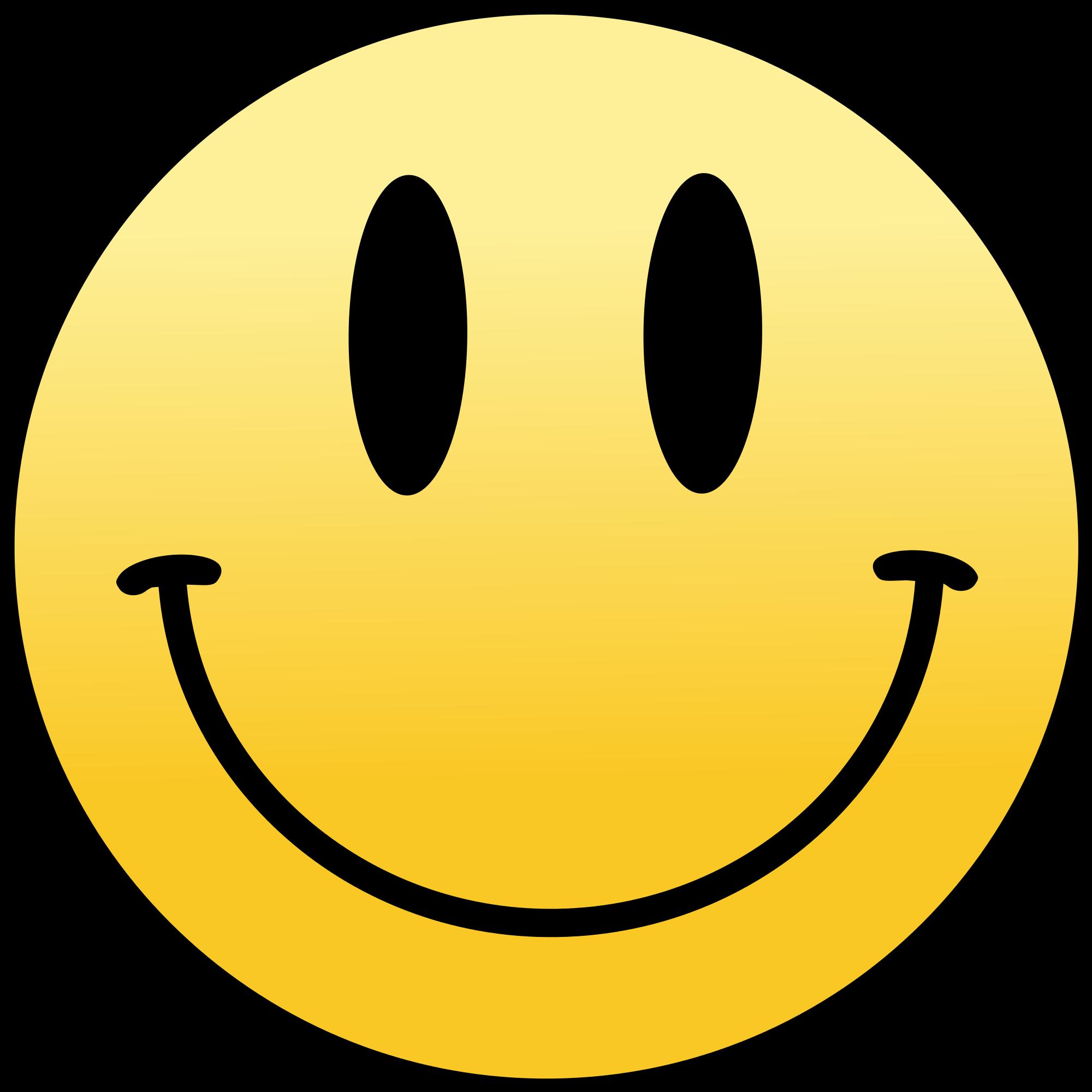 Smiley Looking Happy