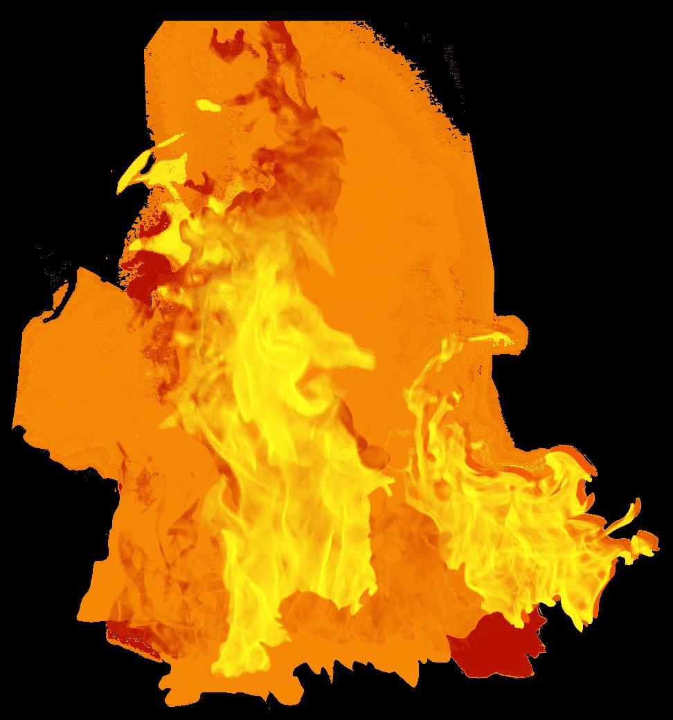 Fire Dense PNG Image