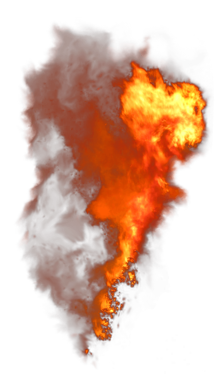 Fire Vertical Smoke PNG