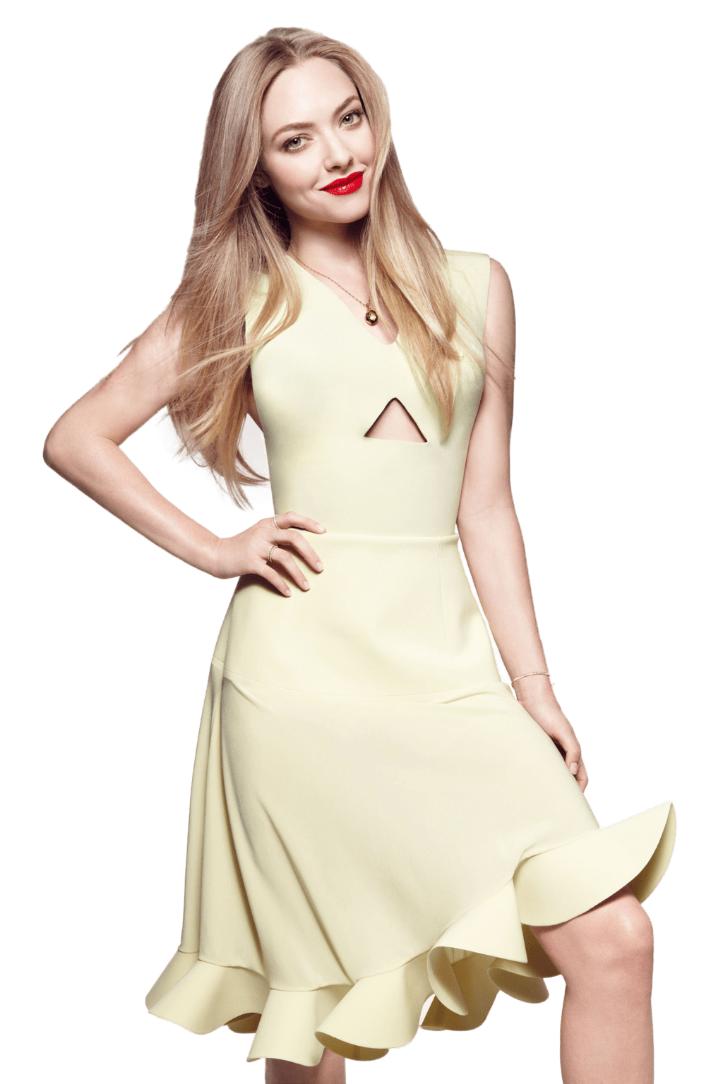 Amanda Seyfried Yellow Dress