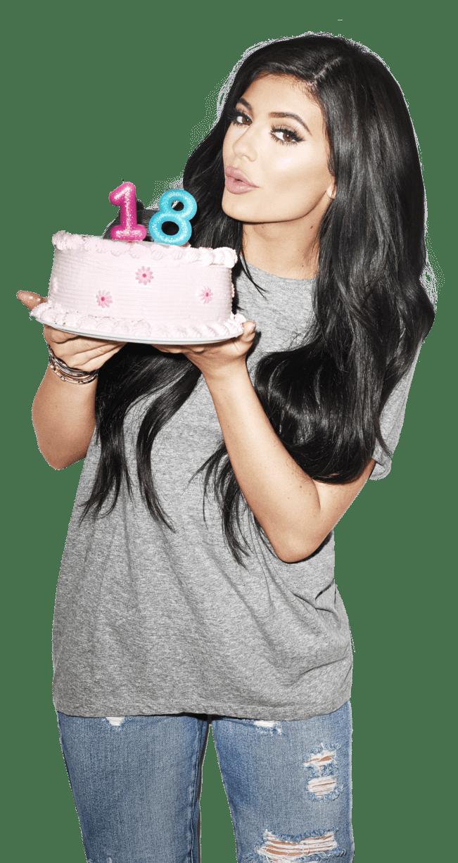 Kylie Jenner Cake 18 PNG Image