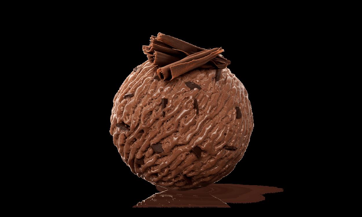 Chocolate Ice Ball PNG