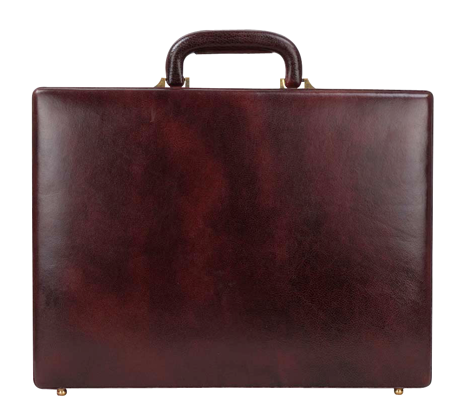 Leather Briefcase PNG PNG Image