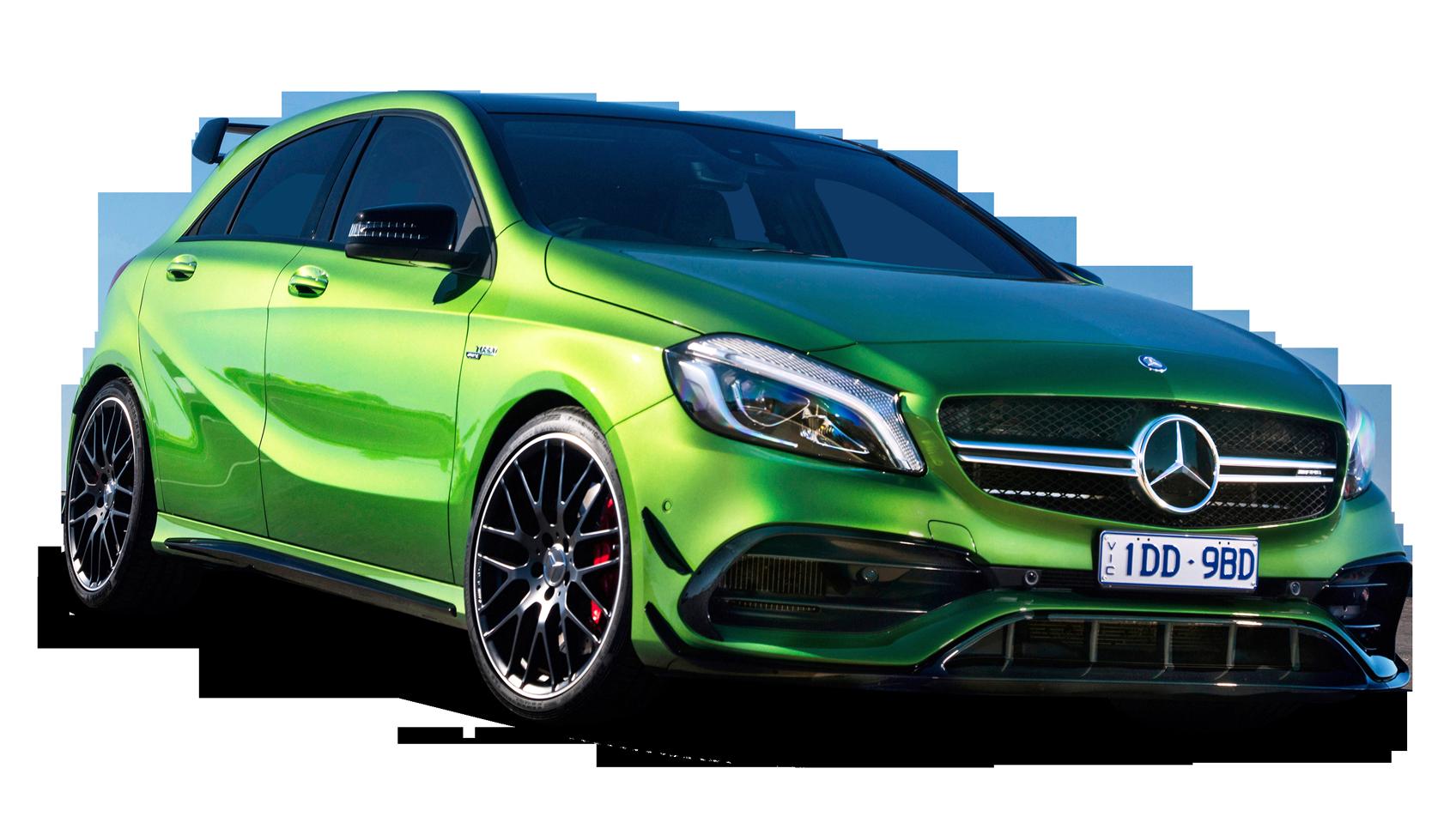Mercedes Benz mercedes benz a class : Green Mercedes Benz A Class Car PNG Image - PurePNG | Free CC0 PNG ...