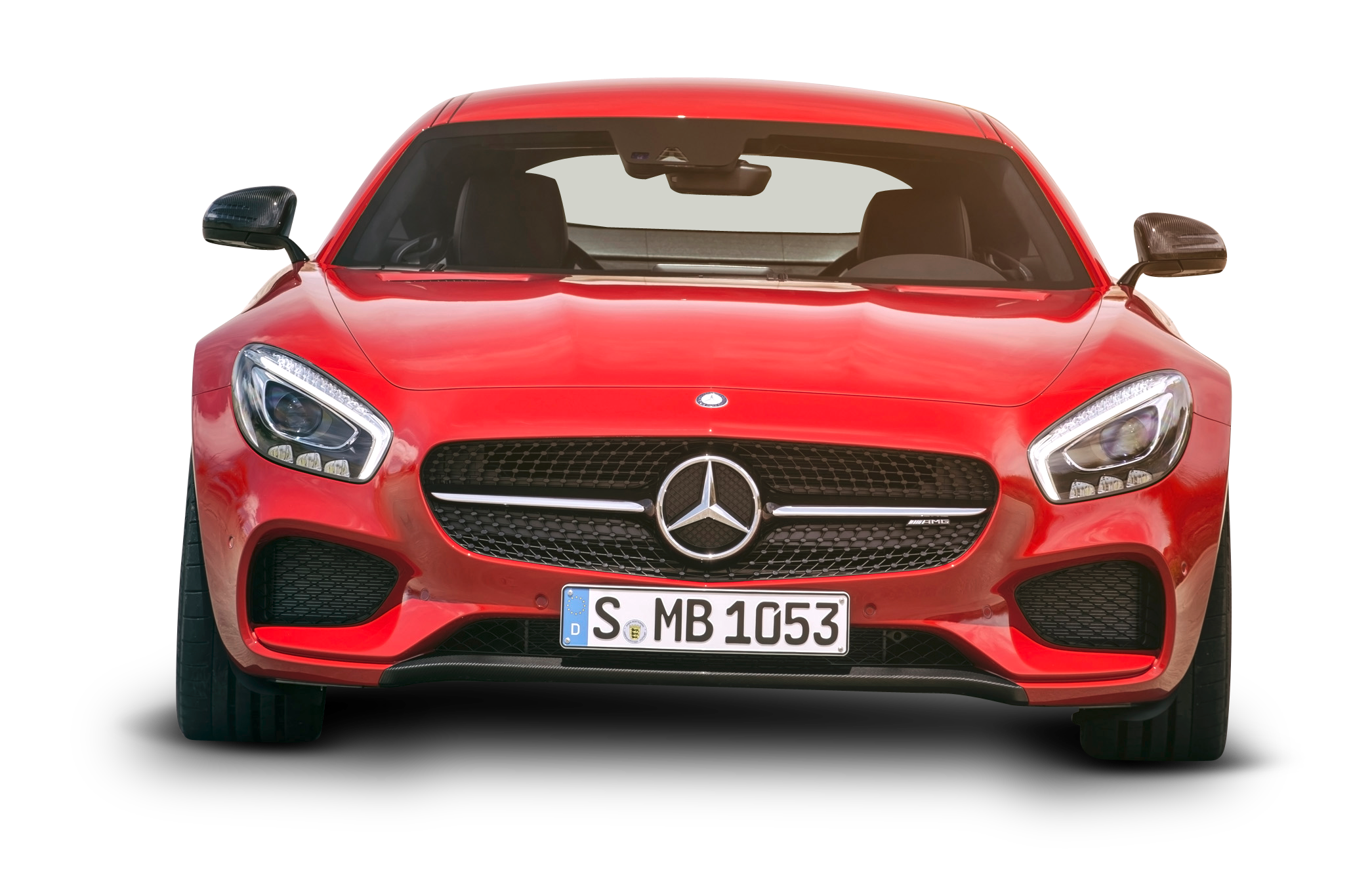 Mercedes Amg Gt Red Car Front Png Image Purepng Free Transparent