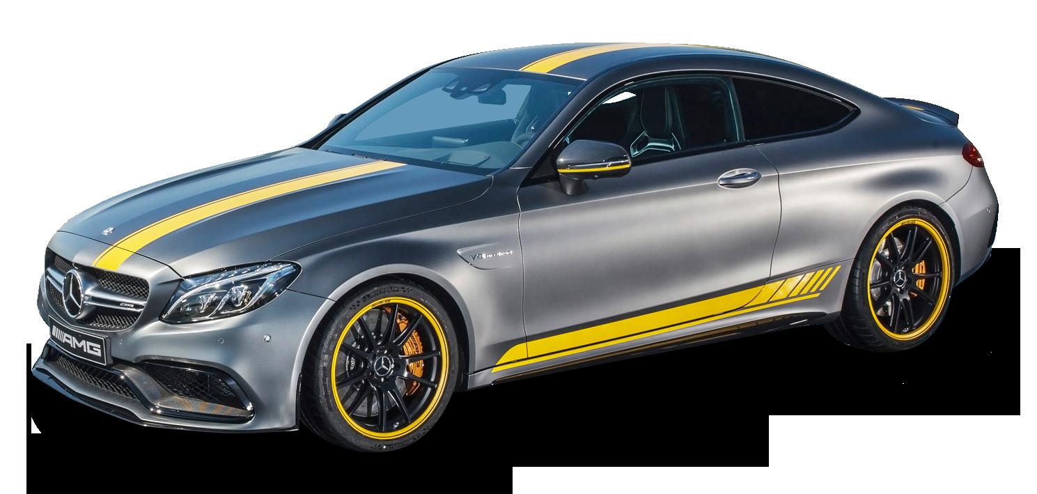 Gray Mercedes AMG Car PNG Image