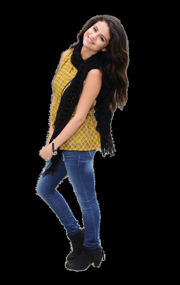 Selena Gomez Smiling PNG Image