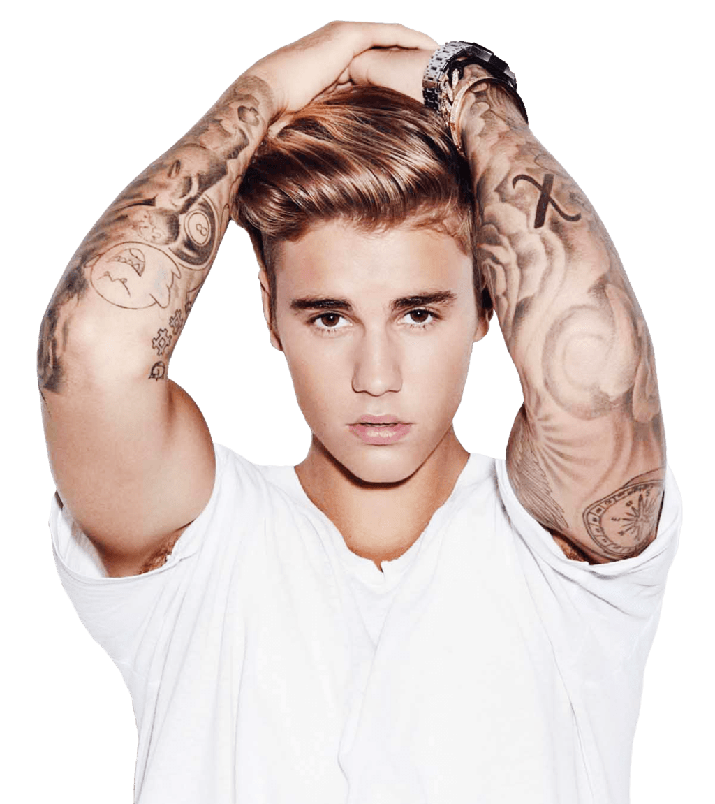 Hands On Head Justin Bieber PNG Image