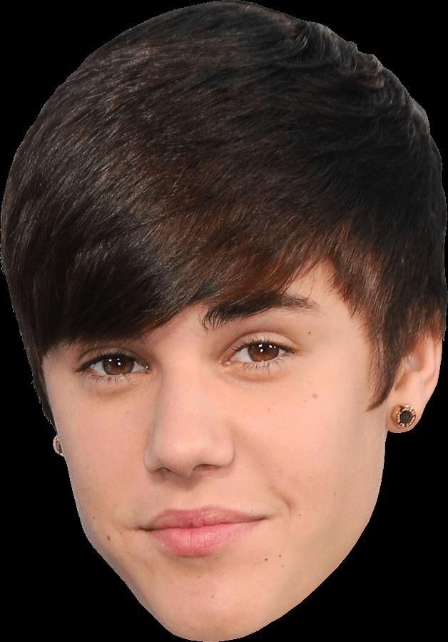 Face Justin Bieber PNG Image