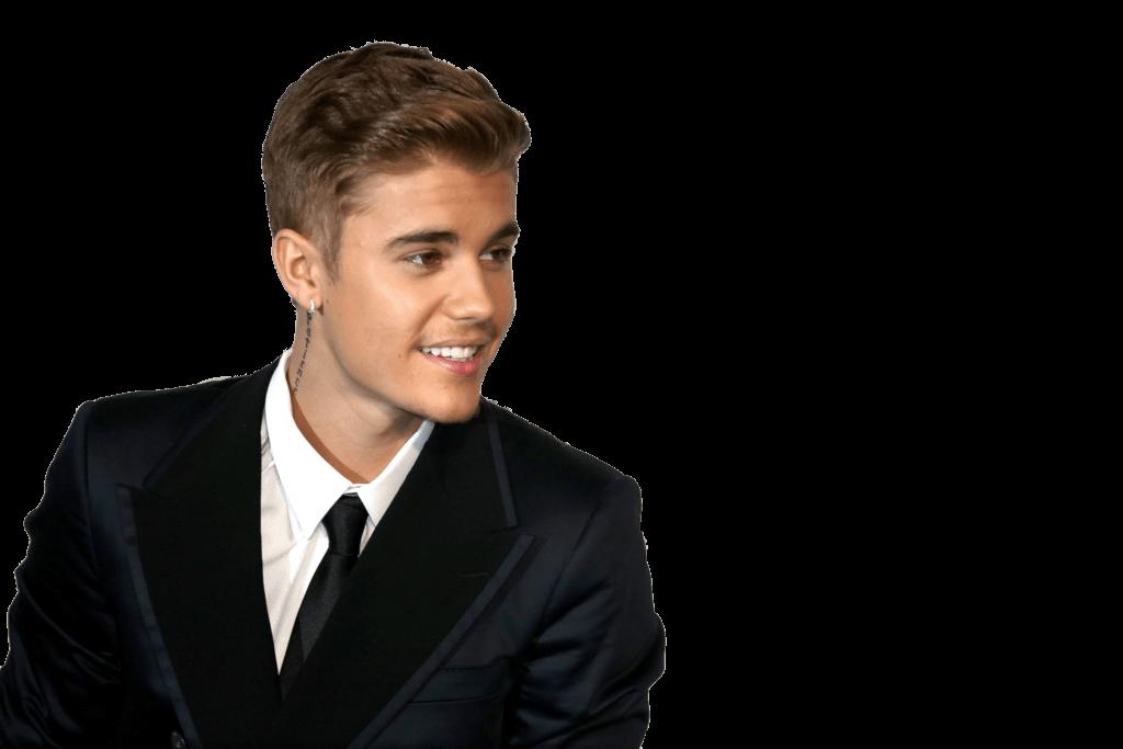 Suit Justin Bieber PNG Image