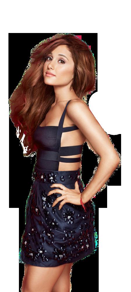 Ariana Grande Looking PNG Image