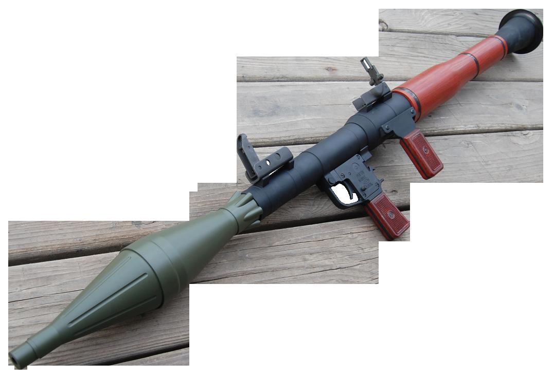RPG Gun PNG Image