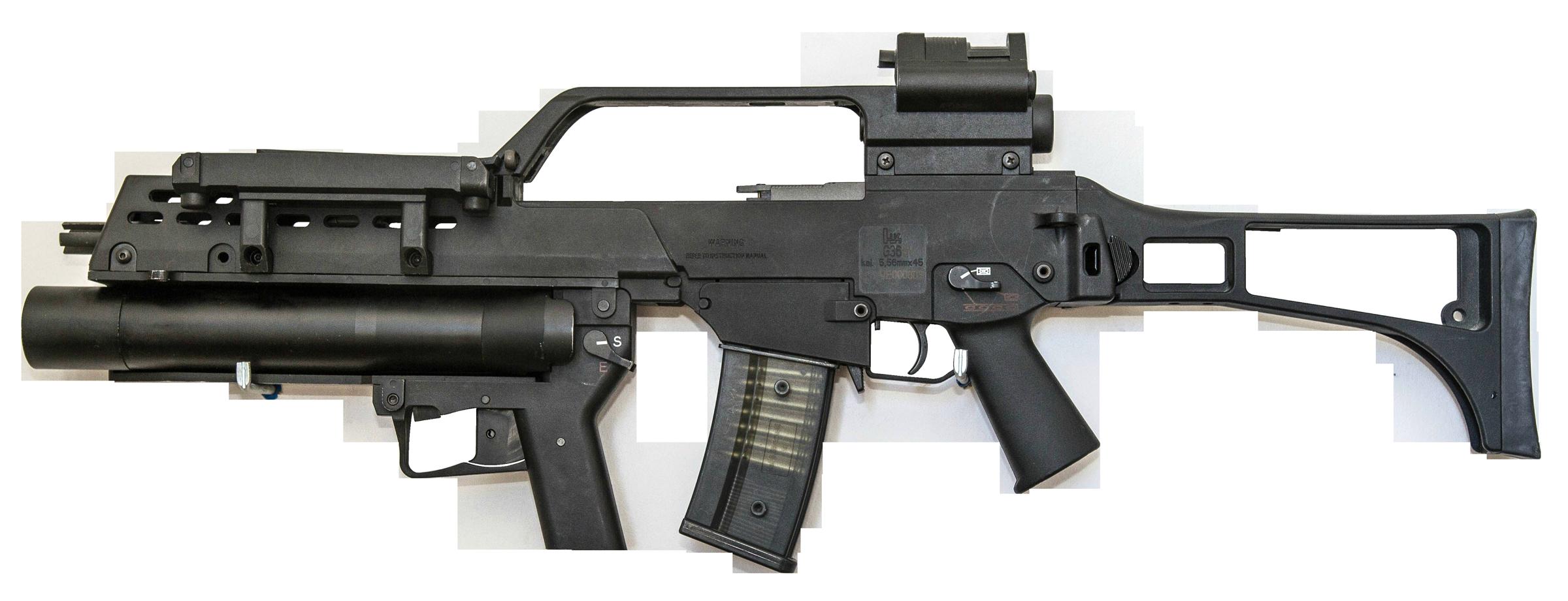 Grenade Launcher Gun PNG Image