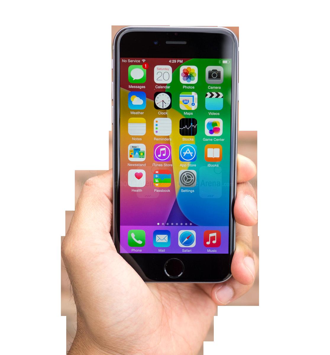 Apple Black iPhone PNG Image