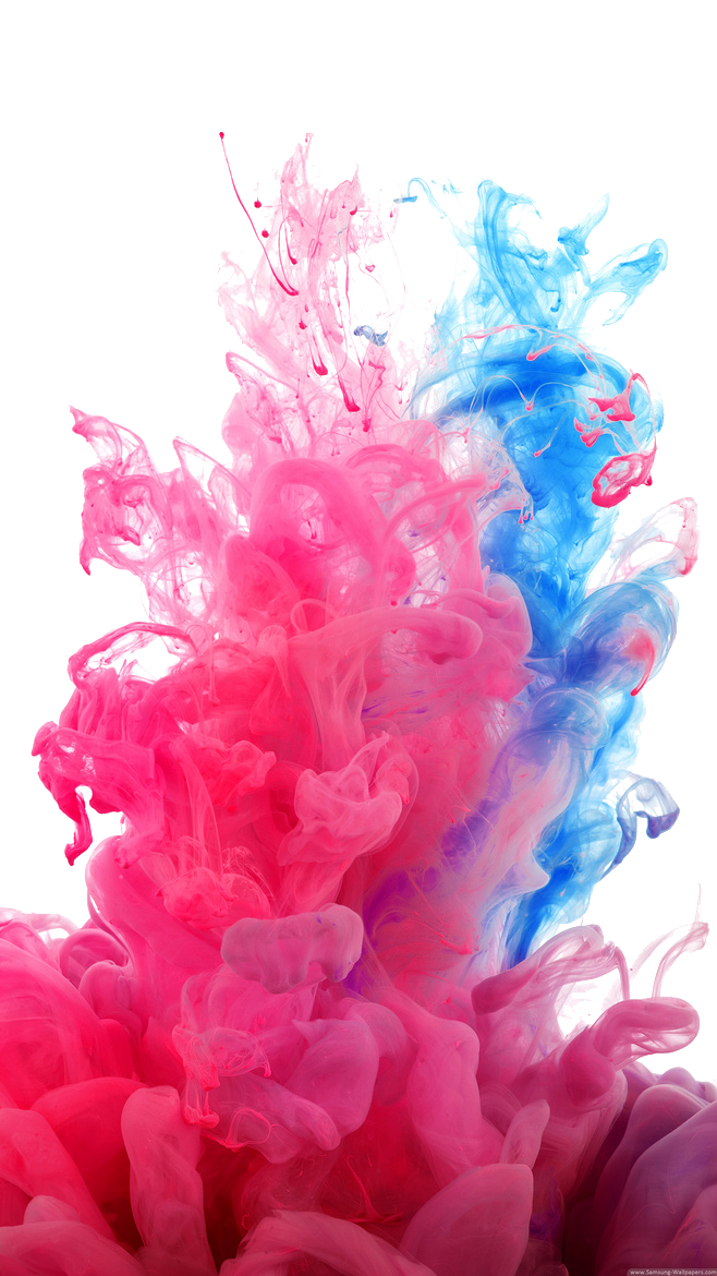 Colorful Smoke PNG Image