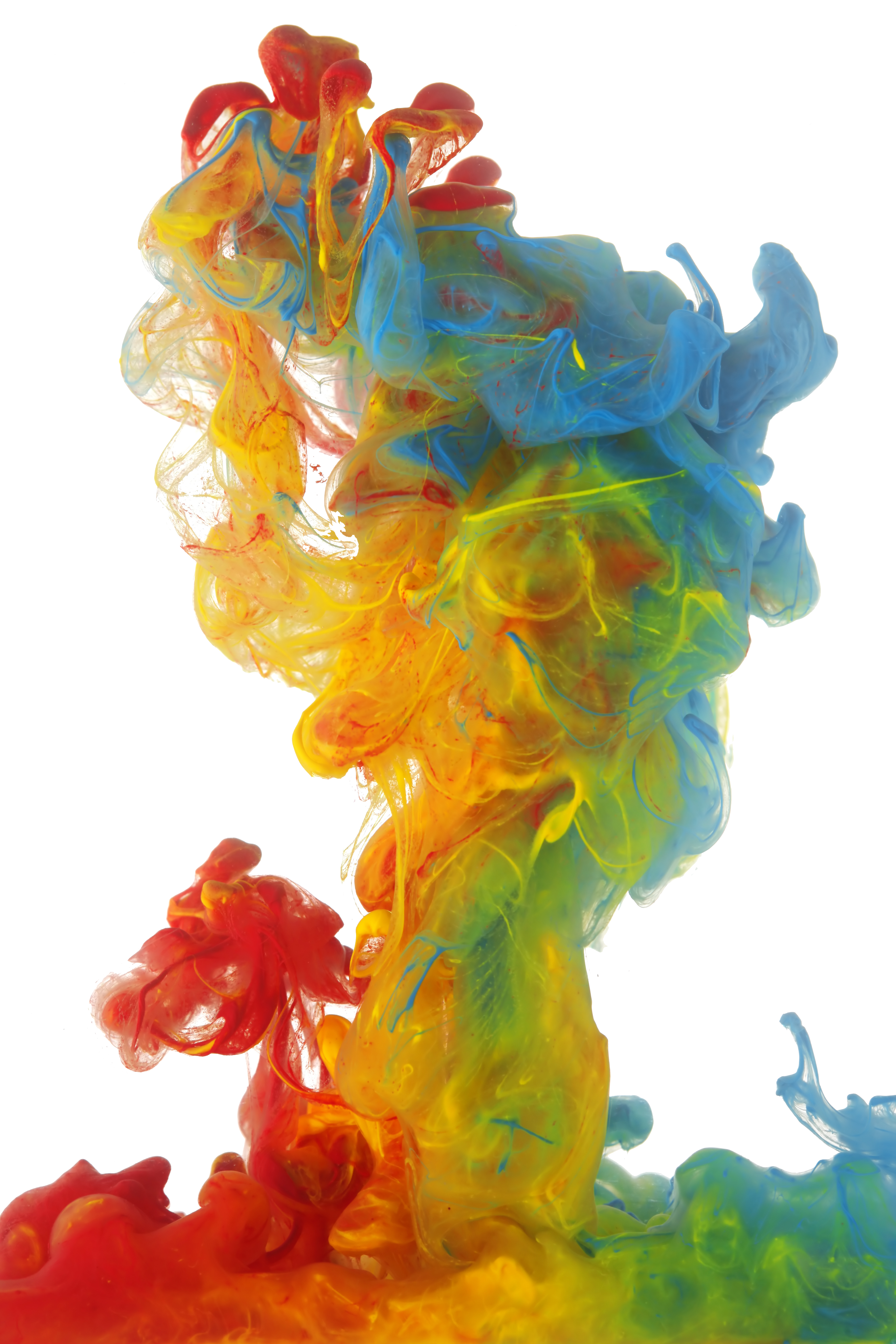 Colored Smoke PNG Image