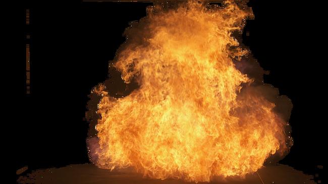 Big Explosion Png Png Image Purepng: Big Yellow Fire PNG Image - PurePNG