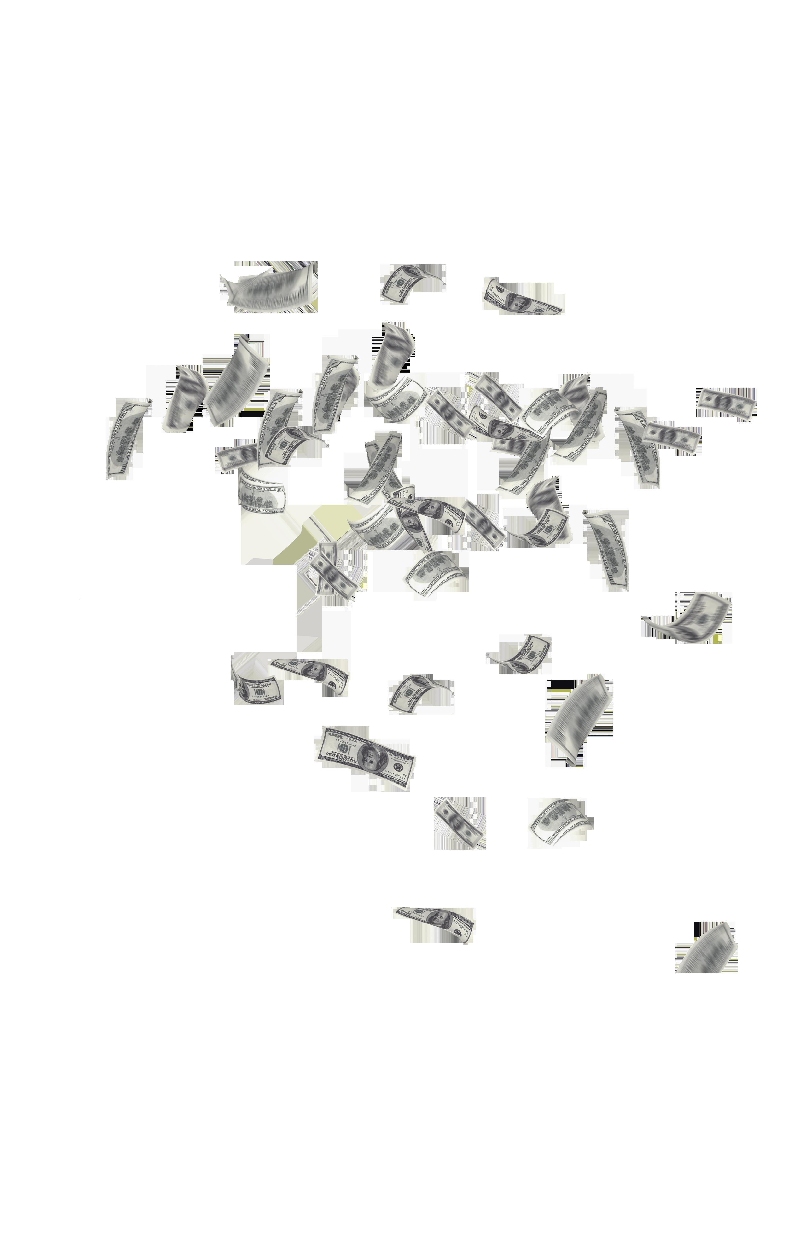 Money Cloud PNG Image