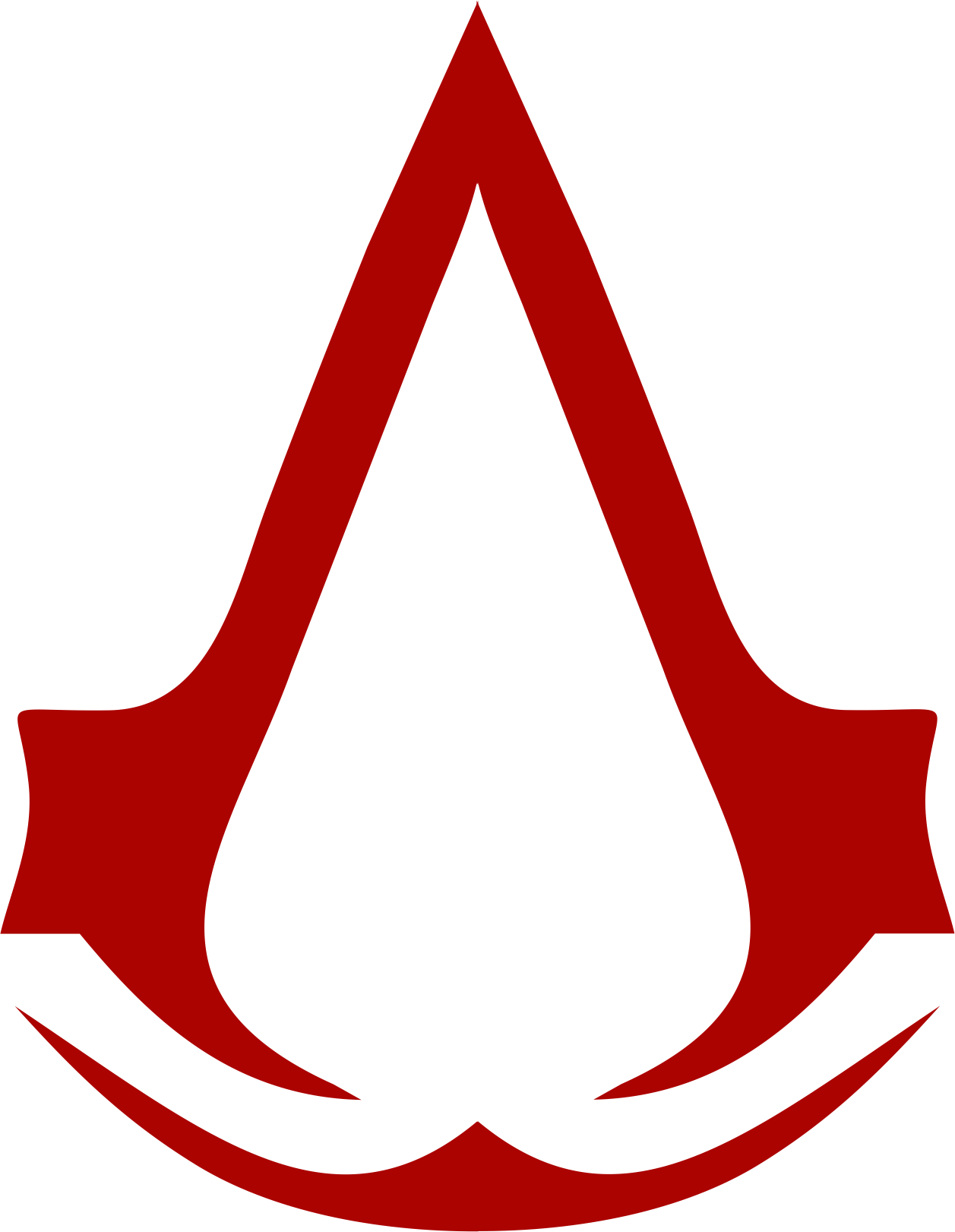 Red Assasins Creed Icon PNG Image