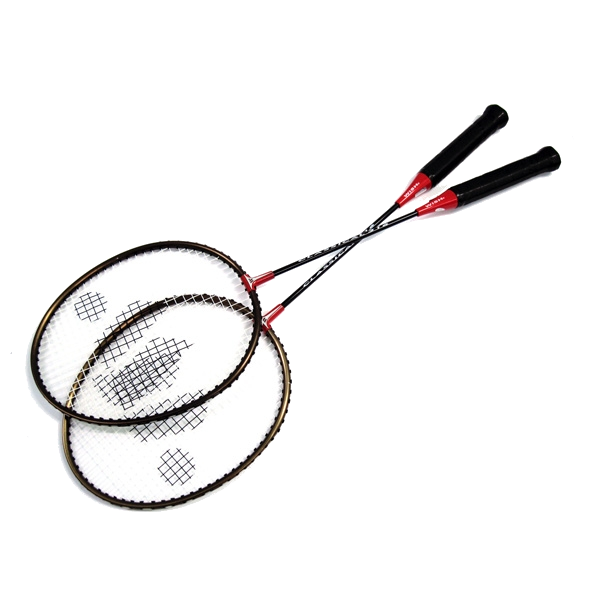 Two Badminton racquets