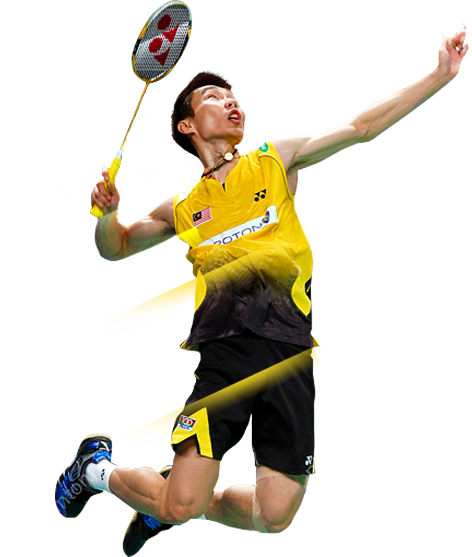 Asian Badminton player