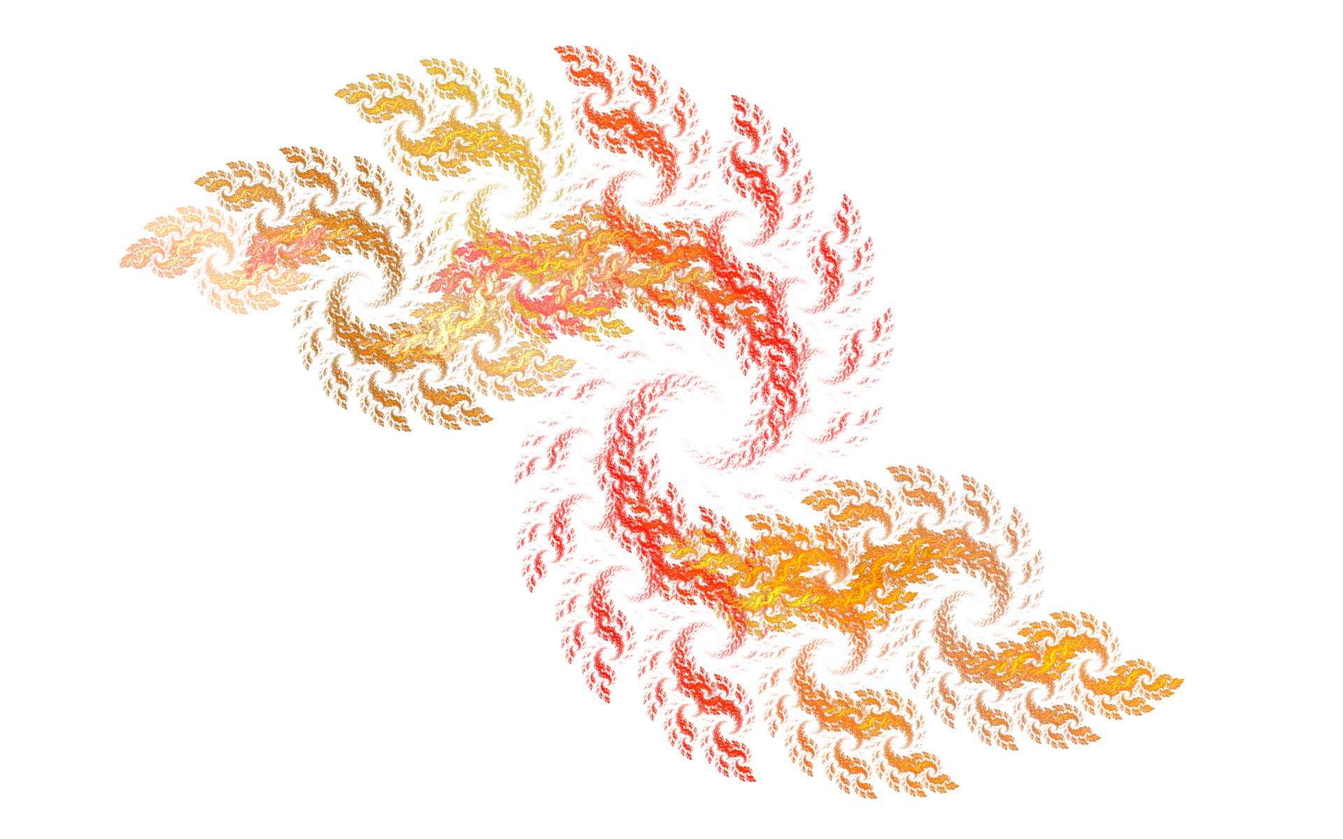 flame Spiral effect PNG Image