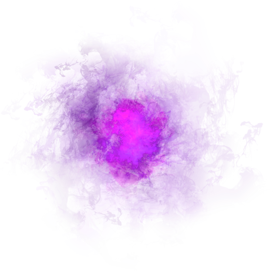 Purple Pink Smoke Effect PNG Image