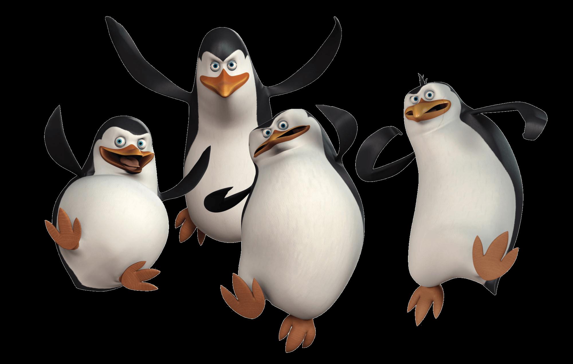 Penguins of madagascar united attack