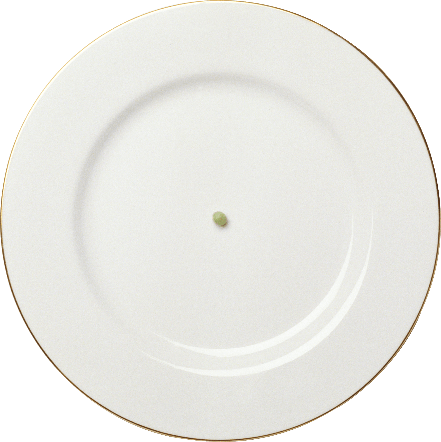 White Plate with Golden Frame PNG Image - PurePNG | Free ...
