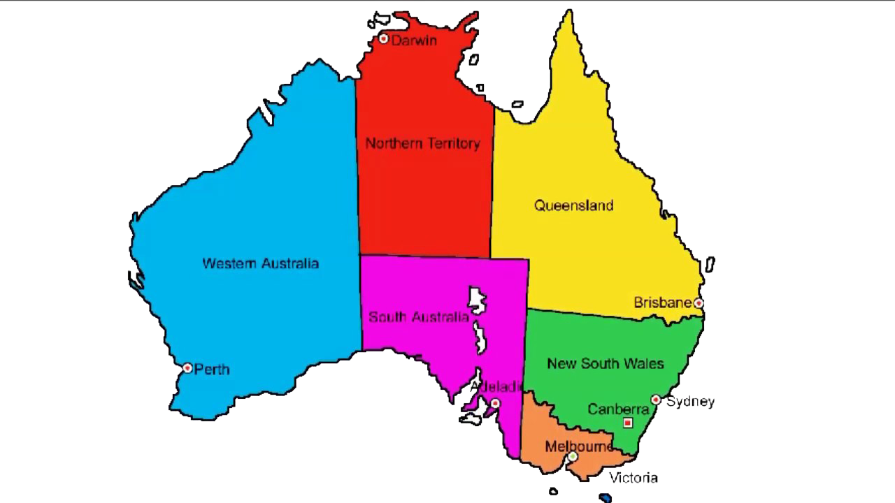 Australia Map Transparent.Australia Map With Names Png Image Purepng Free Transparent Cc0