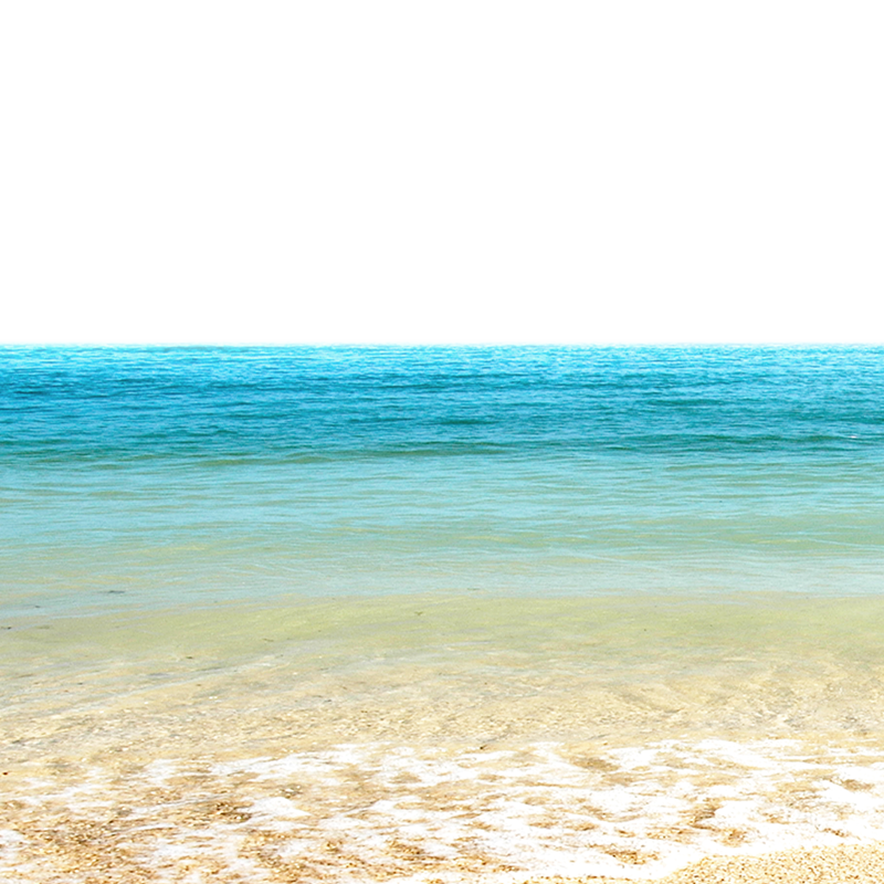 Sea and Shore PNG Image