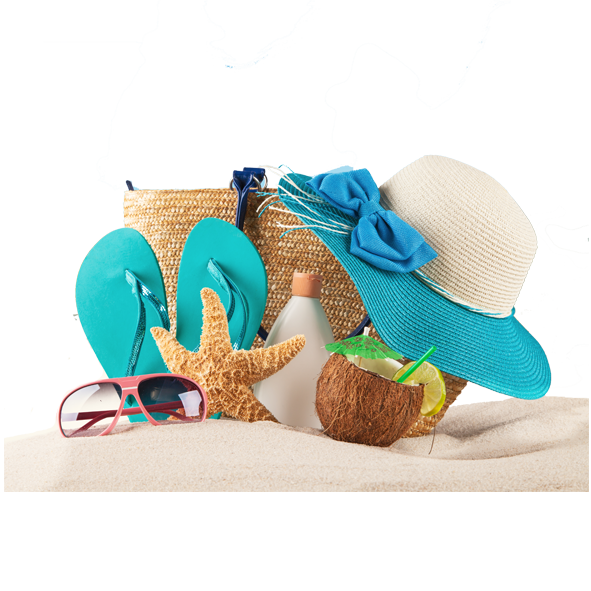 Beach Collection PNG Image