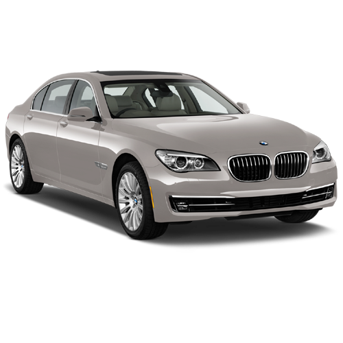 Beige BMW Sedan 5 2013 Car