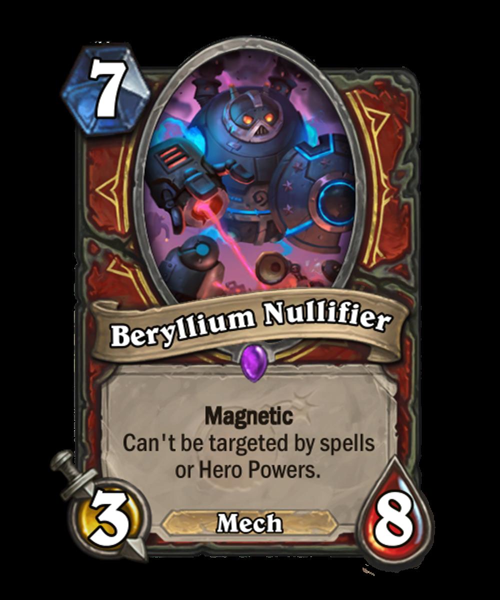 Beryllium Nullifier