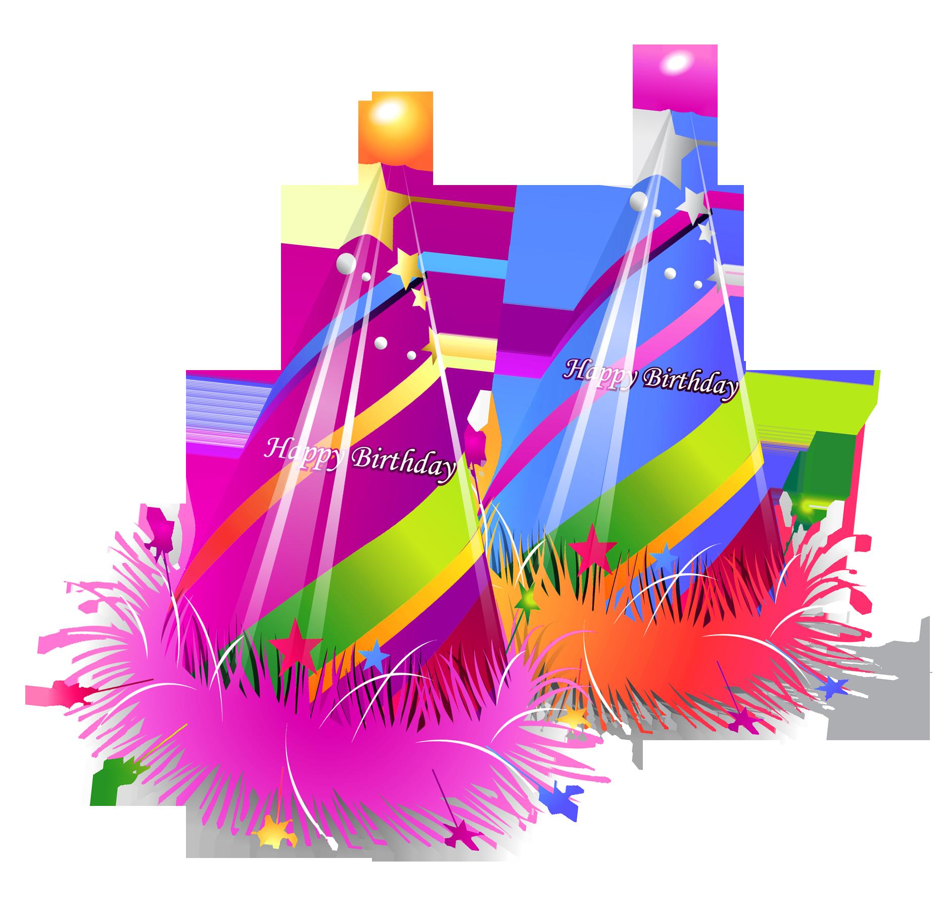 Birthday Caps PNG Image